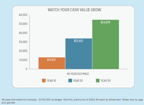 Cash Value Graph
